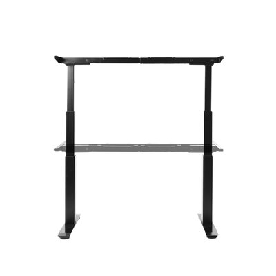 Airlift 50.4 H x 23.6 W Desk Base Finish: Black