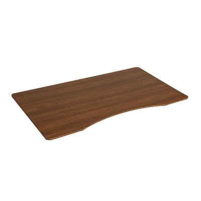 Airlift 1 H x 54 W Desk Tabletop Finish: Walnut
