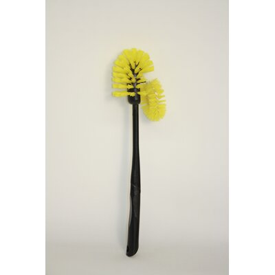 Toilet Brush Black Handle with Bristles
