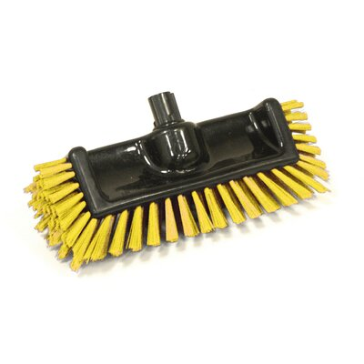 Scrator Brush BLacK with Bristles Bristles: Yellow