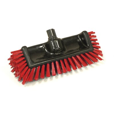Scrator Brush BLacK with Bristles Bristles: Red