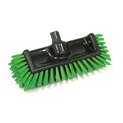 Scrator Brush BLacK with Bristles Bristles: Green