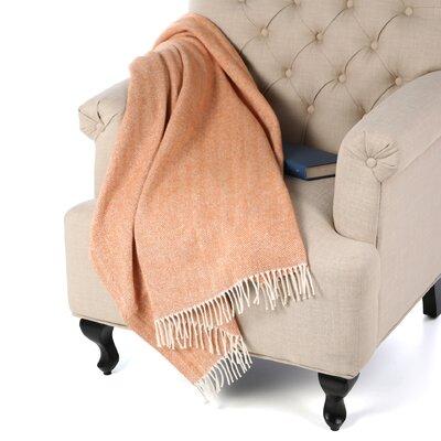 Celine Throw Blanket Color: Paprika