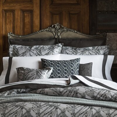 Pallina Duvet Cover Size: Full/Queen, Color: Pewter