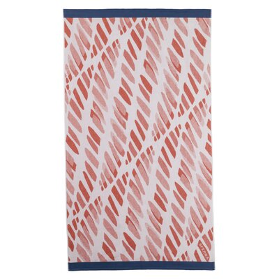 Edgewater Beach Towel Color: Salmon