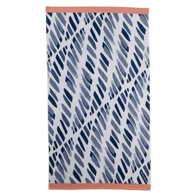 Edgewater Beach Towel Color: Navy