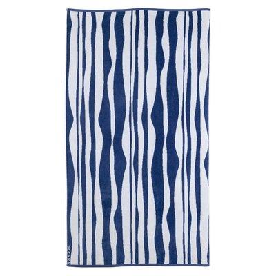 Ridges Beach Towel Color: Navy