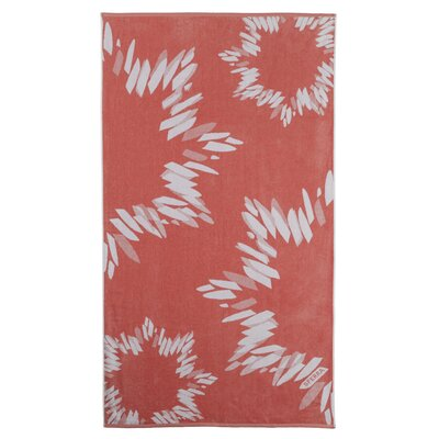 Sparkler Beach Towel Color: Salmon