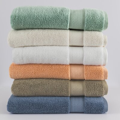 Amira Bath Towel Color: White