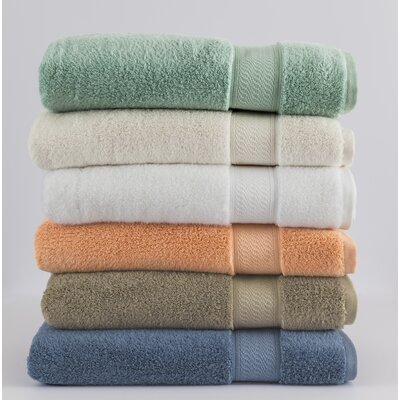 Amira Bath Towel Color: Ivory