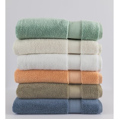 Amira Washcloth Color: White