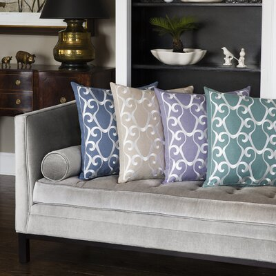 Ciro Throw Pillow Color: Taupe