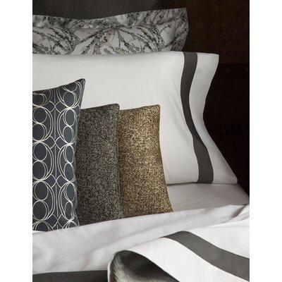 Nissa Lumbar Pillow Color: Black