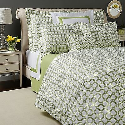 Barrington Duvet Cover Size: Full / Queen, Color: Chartreuse