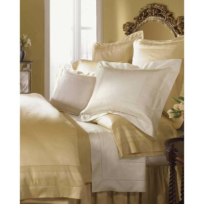 Capri Cotton Flat Sheet Color: White, Size: King