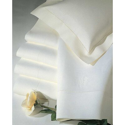 Classico Bottom Pure Linen Fitted Sheet Size: King