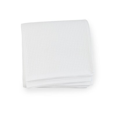 Kingston Cotton Blanket Color: White, Size: King