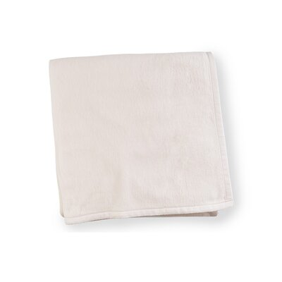 St. Moritz Cotton Blanket Size: King, Color: Ivory