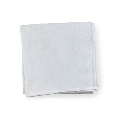 St. Moritz Cotton Blanket Color: Blue, Size: Full/Queen