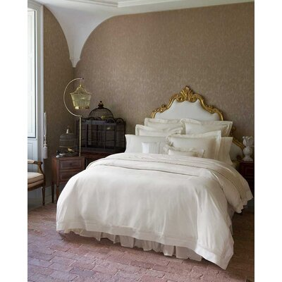 Giza 45 Lace Duvet Cover Color: White