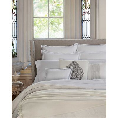 Giza 45 Trina Pillow Case Size: King, Color: White