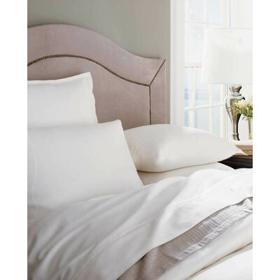 Tesoro 100% Cotton Flat Sheet Size: Full/Queen