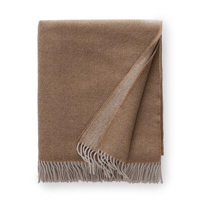 Tartini Merino Wool Throw Color: Pebble