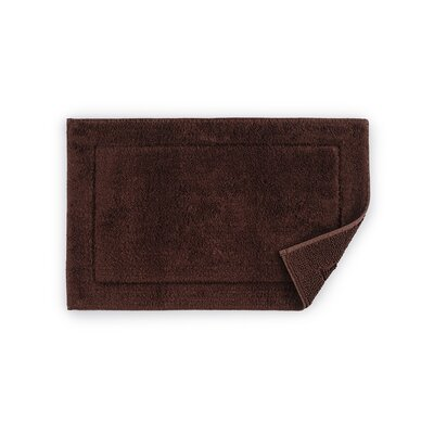 Maestro Bath Rug Size: 20 W x 31 D, Color: Brown