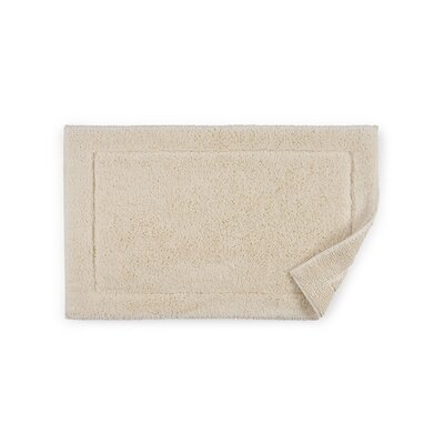 Maestro Bath Rug Color: Ivory, Size: 20 W x 31 D