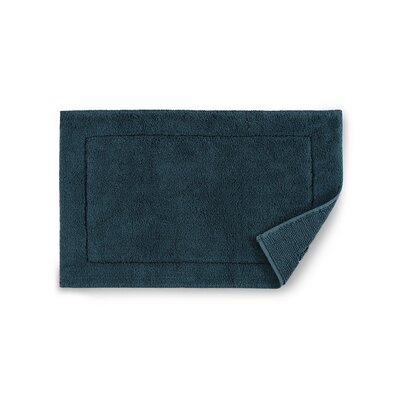 Maestro Bath Rug Color: Teal, Size: 20 W x 31 D