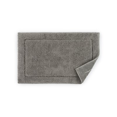 Maestro Bath Rug Color: Gray, Size: 20 W x 31 D