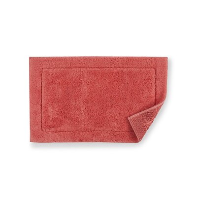 Maestro Bath Rug Size: 23 W x 39 D, Color: Salmon