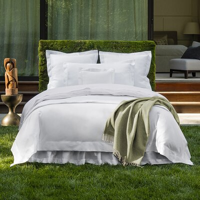 Giotto Duvet Cover Color: White, Size: Twin