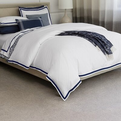 Amando Cotton Flat Sheet Size: King