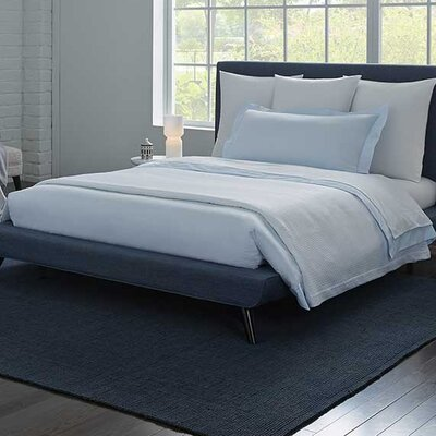Celeste Duvet Cover Color: White, Size: Full/Queen