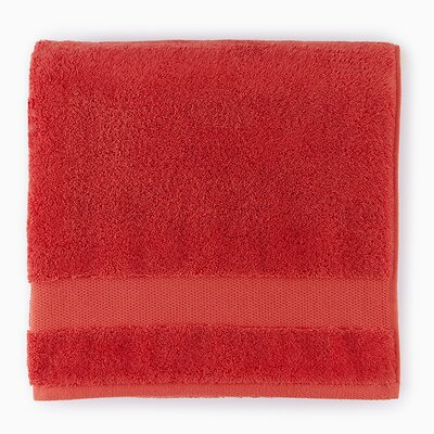 Bello Hand Towel Color: Poppy