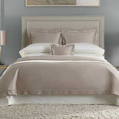 Lucio 100% Cotton Bottom Fitted Sheet Color: Cashew, Size: Queen