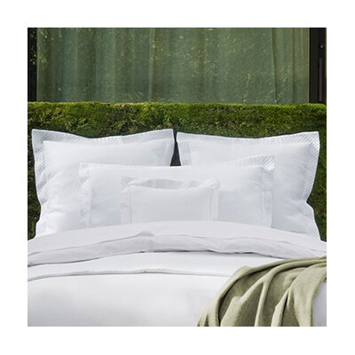 Giotto Pillow Case Color: White, Size: Standard