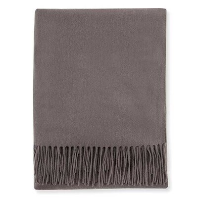 Dorsey Cashmere Throw Color: Gray