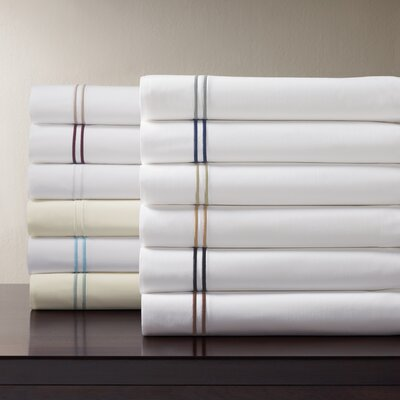 Grande Hotel 200 Thread Count Egyptian-Quality Cotton Fitted Sheet