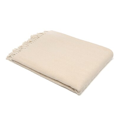 Celine Throw Blanket Color: Taupe