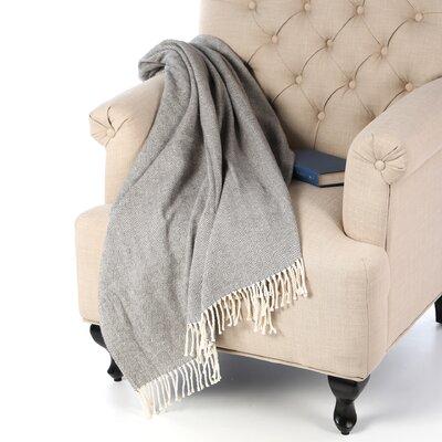 Celine Throw Blanket Color: Charcoal