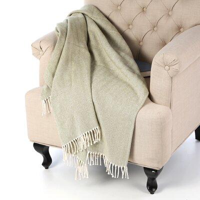 Celine Throw Blanket Color: Moss