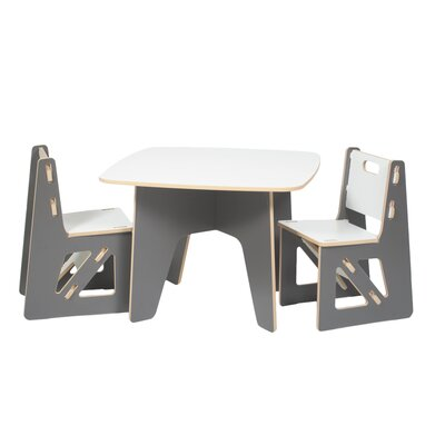 Sprout Kids 3 Piece Table Chair Set