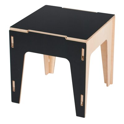 Caja Storage Ottoman Finish: Black