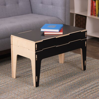 Coffee Table with Lift Top Finish: Black