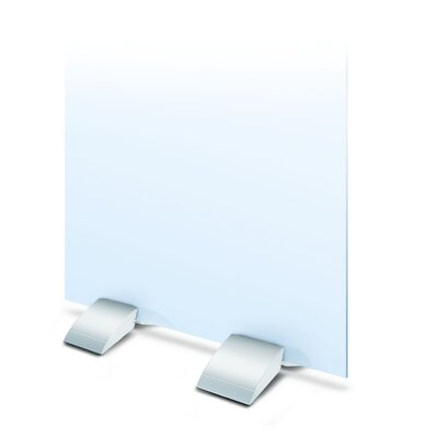 "Testrite Curvette Mounts - Color: Satin Silver, Size: 24"" at Sears.com"