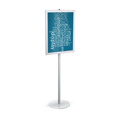 "Testrite Futura Perfex Signframes - Color: Matte Black, Frames: 2, Holds Graphic Size: 24"" x 36"" at Sears.com"