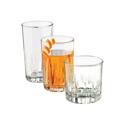 Brockton 24 Piece Glass Set 56013