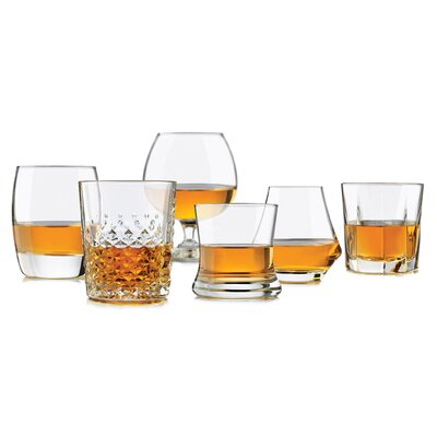 Perfect 6 Piece Glass Assorted Glassware Set 80686